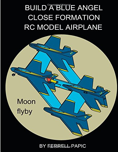 Build A Blue Angel Close Formation Rc Model Airplane front-169924