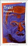 echange, troc Georg Trakl - Poèmes I