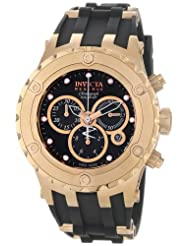 Invicta Men's 0528 Reserve Collection Specialty Chronograph Midsize White Polyurethane Watch