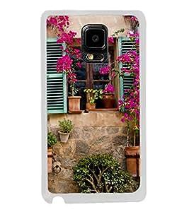 Beautiful Vintage Window 2D Hard Polycarbonate Designer Back Case Cover for Samsung Galaxy Note Edge :: Samsung Galaxy Note Edge N915FY N915A N915T N915K/N915L/N915S N915G N915D
