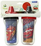 The First Years 2 Pack 9 Ounce Insulated Sippy Cup, Cars/Pattern May Vary