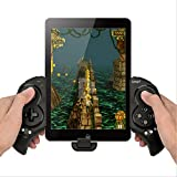 Megadream® Newest Game Controller Portable Bluetooth Wireless Gamepad Joystick Control for Android Samsung Galaxy Note 3 S5 HTC Sony Xperia LG and iOS iPhone 6 5S 5C 5 iPad 5 4 iPod, Supports Up to 10' Smartphone or TabletTablet PC
