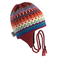 Turtle Fur - Men's Northern Lights, Classic Wool Ski Earflap Hat