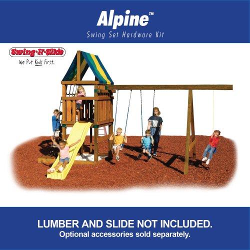 Alpine Custom Ready-to-Build Swing Set Kit