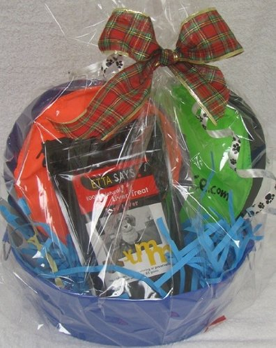 Gift Basket for the Friend That Has a Pet! A fun Dog Gift Basket