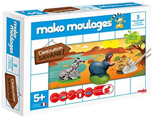 dujardin-39001-kit-de-loisirs-creatifs-mako-moulages-savane-3-moules