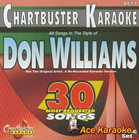Chartbuster Karaoke CDG CB8577 - Don Williams - 30 Most Requested Songs