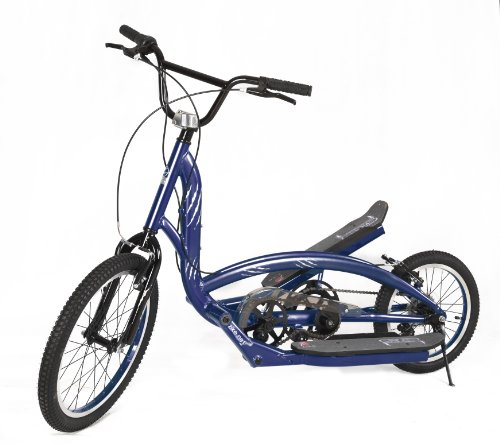 Zike Saber Hybrid Bike (Dark Blue, 25 1/2-Inch W x 61-Inch L x 41-Inch H)