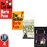 Mario Puzo 4 Books Collection Pack Set RRP: £33.3 (The Last Don, The Family, The Fortunate Pilgrim, The Sicilian) Mario Puzo