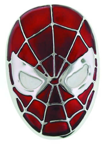 Jewel M Spider-Man Head Belt Buckle