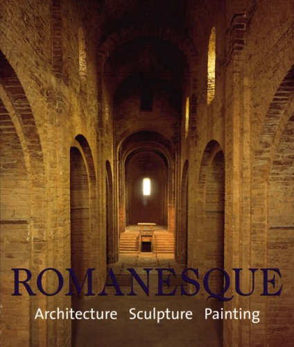 ROMANESQUE ARCHITECTURE SCULPTURE PAINTING