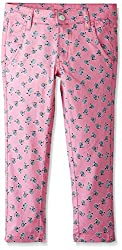 People Girls' Trousers (P30602047103189_Pink_7 - 8 years)