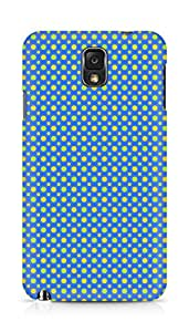 Amez designer printed 3d premium high quality back case cover for Samsung Galaxy Note 3 (Geometric Bright Pattern8)
