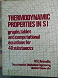 Thermodynamic properties in SI: Graphs, tables, and computational equations for forty substances