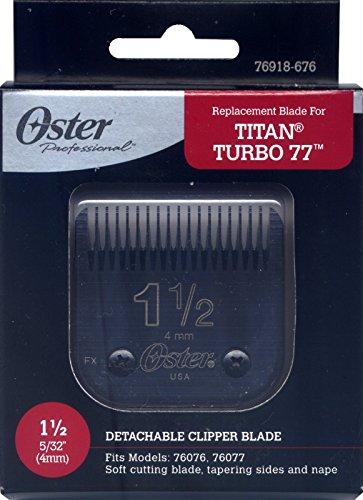 Genuine OSTER Diamox Blade Size 1 1/2 For 76 Titan Turbo 76918-676 (Oster 77 Blades compare prices)