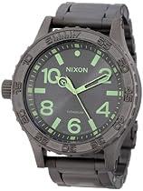 Nixon A3511418 51-30 Titanium Dial All Gunmetal / Lum Men Watch NEW