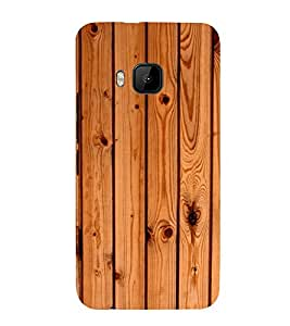 printtech Wooden Design Back Case Cover for HTC One M9 / HTC M9 / HTC One Hima