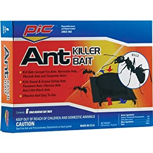 PIC AT-6 Plastic Ant Control, Pack of 6