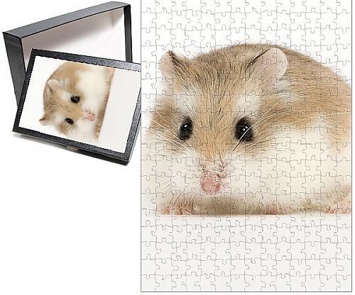 Photo Jigsaw Puzzle of Roborovski Hamster