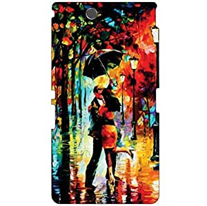 Sony Xperia Z Ultra C6802 Back Cover - Romantic Walk Designer Cases