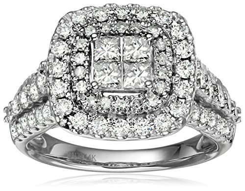 14k-White-Gold-Invisible-Set-Diamond-Engagement-Ring-2cttw-H-I-Color-I1-I2-Clarity-Size-7