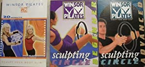 Winsor Pilates 3 DVD 5 Workouts Set + 20 Minute Circle Workout, Accelrated Fat Buring + Sculping Beginner + Circle Advanced w/ Cookbook/ Meal Planner/ Excercise Calendar & Winsor Pilates Circle from GUTHY RENKER