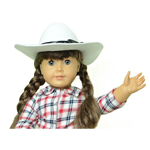 "18"" Doll Cowboy/Derby Hat - 1"