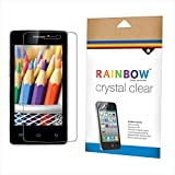 Rainbow Crystal Clear Screen Protector For IBall Andi 4P IPS