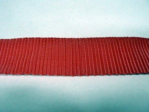 1 Meter HSI PP Gurtband rot Breite 35 mm Meterware Spanngurt