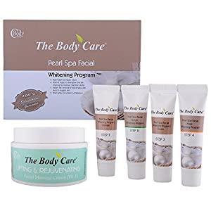 The Body Care Combo Of Pearl Spa Facial Kit + Lifting and Rejuvenating Cream