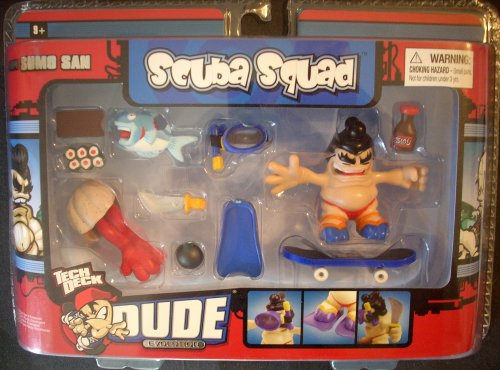 Tech Deck DUDE Evolution SCUBA SQUAD w/ Sumo San Set - 1