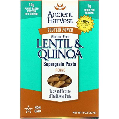 ANCIENT HARVEST PASTA PENNE GREEN LENTIL, 8 (Green Lentil Pasta compare prices)