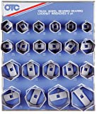 51J0smu9EjL. SL160  OTC 9850 6 Point Truck Wheel Bearing Locknut Display with 6 Point Sockets