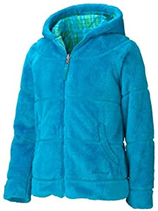 Marmot Girl's Gemini Jacket, Blue Sea/Blue Sea Plaid, Small