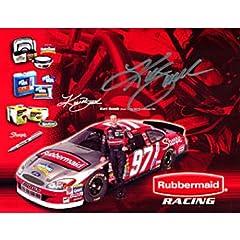 Kurt Busch Autographed Photograph - 8x10 - Autographed NASCAR Photos by Sports Memorabilia