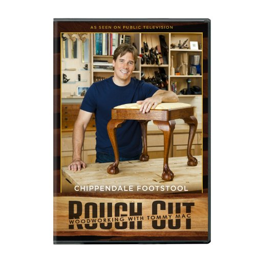 Rough Cut: Woodworking - Chippendale Footstool ( + Printed Plans)