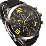 Fashion Big Dial Military Style Watches Casual Sport Man Wrist Watch