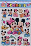 Disney Mickey Mouse Clubhouse Babies: Glitter Character Shaped Stickers