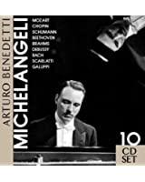 Arturo Benedetti Michelangeli plays Mozart, Chopin, Brahms, etc. (Box) [Germany]