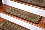 Dean Premium New Zealand Wool Carpet Stair Treads - Marquis Cocoa (Set of 13) 30
