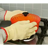 Good Ideas Anti Burn Kevlar Oven Gloves (549) - Gives heat protection upto 350o F.by Good Ideas