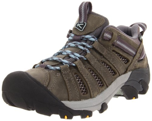 Keen Women's Voyageur Trail Shoe,Charcoal/Sterling Blue,6.5 M US