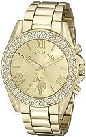 U.S. Polo Assn. Women's USC40036 Gold-Tone Watch