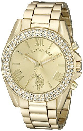 U.S. Polo Assn. Women's USC40036 Gold-Tone Watch