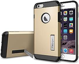 iPhone 6 Plus Case, Spigen [HEAVY DUTY] Tough Armor Case for iPhone 6 Plus (5.5-Inch) - Champagne Gold (SGP10916)