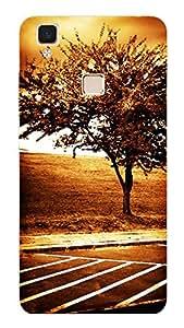 TrilMil Printed Designer Mobile Case Back Cover For Vivo V3