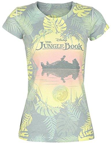 The Jungle Book Allover Maglia donna multicolore XXL