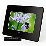 Micca M702z 7-Inch Digital Photo Frame With MP3 and Video Player (Black)