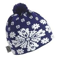 Turtle Fur - Women's Lumi, Classic Wool Ski Hat Pom Beanie