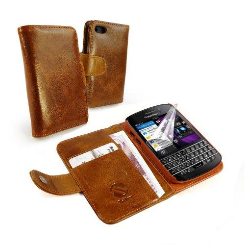 Tuff luv etui housse tui portefeuille cuir vintage incl for Housse blackberry q10